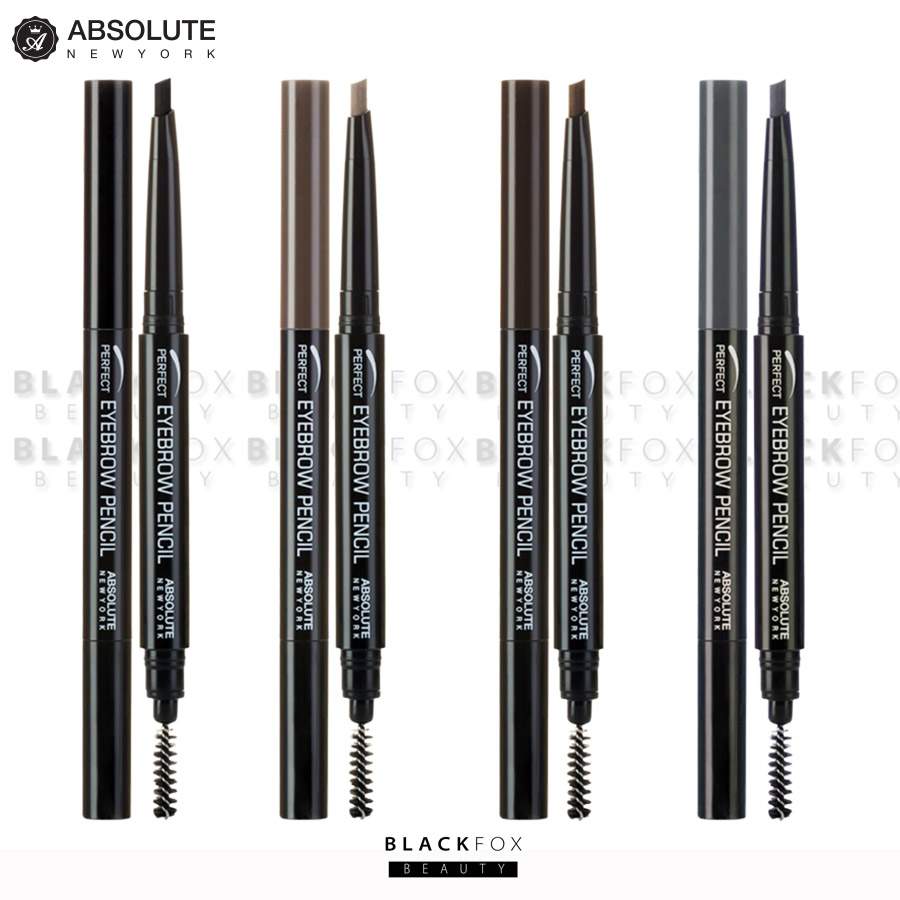Absolute New York Perfect Eyebrow Pencil Eyebrow Stencil Kit Pick